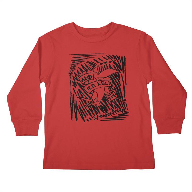 Ice Kold Kids Longsleeve T-Shirt by ArtHeartB