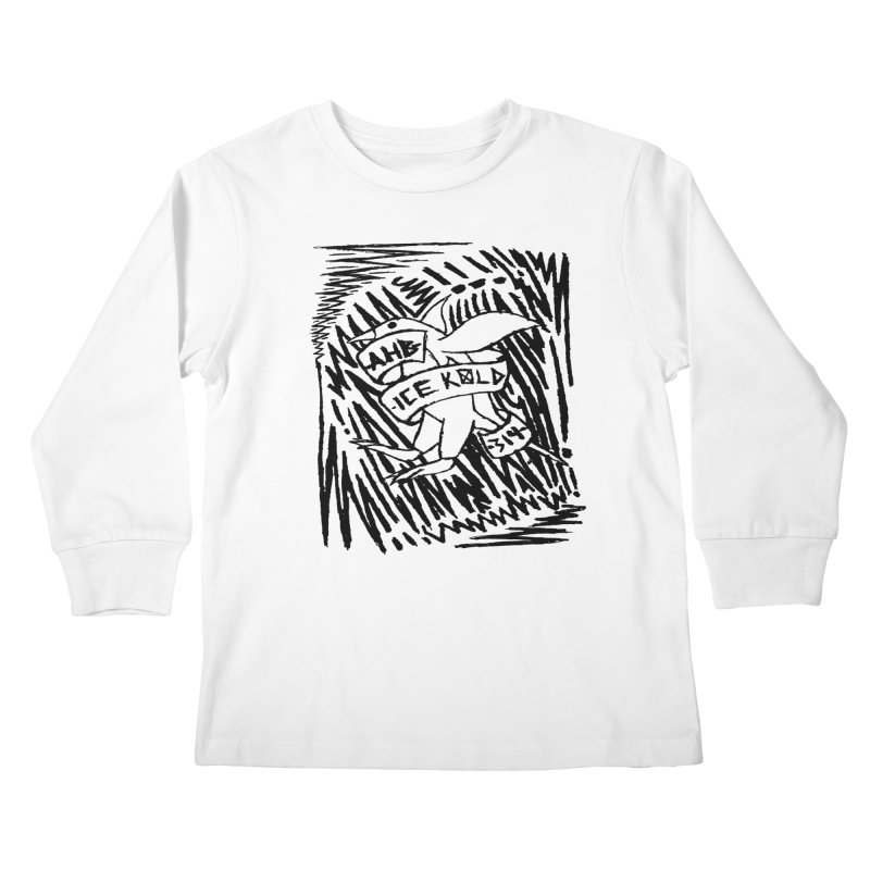 Ice Kold Kids Longsleeve T-Shirt by ArtHeartB