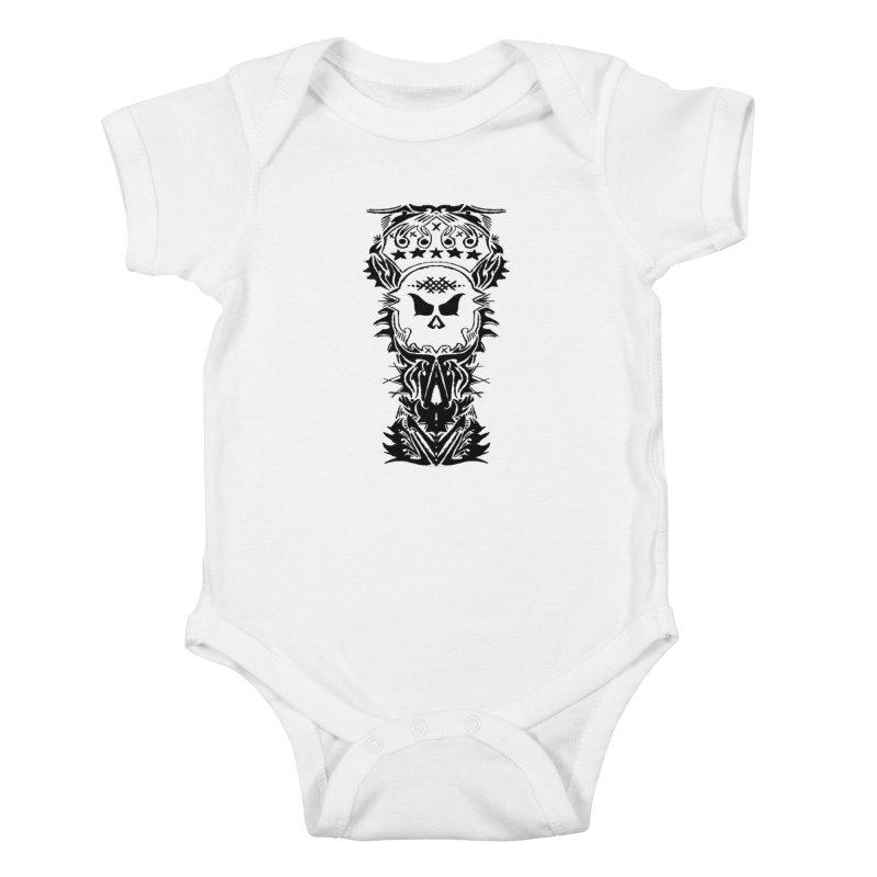 King Vicious  Kids Baby Bodysuit by ArtHeartB