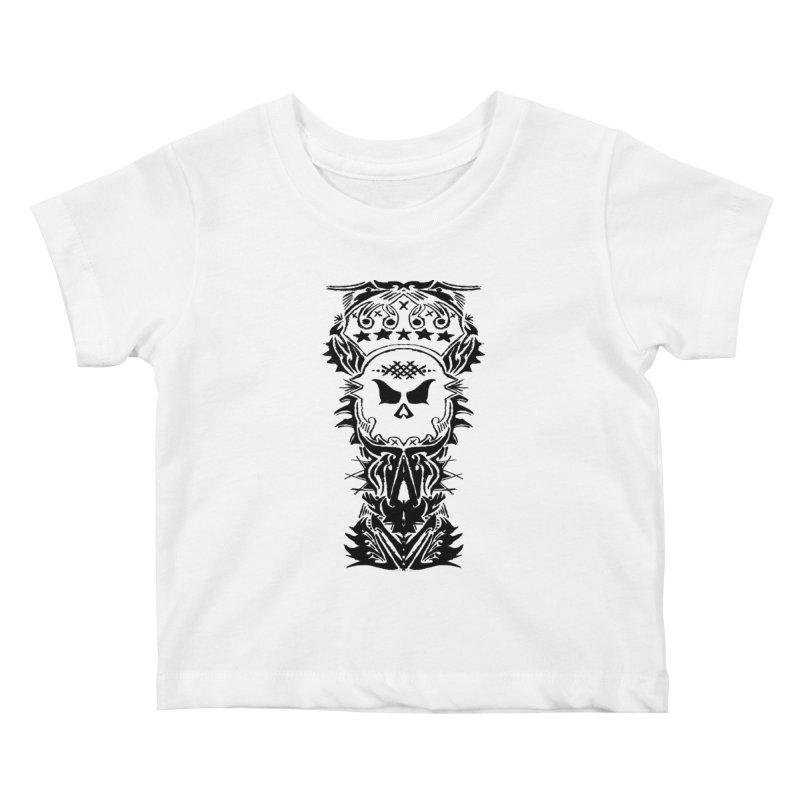 King Vicious  Kids Baby T-Shirt by ArtHeartB