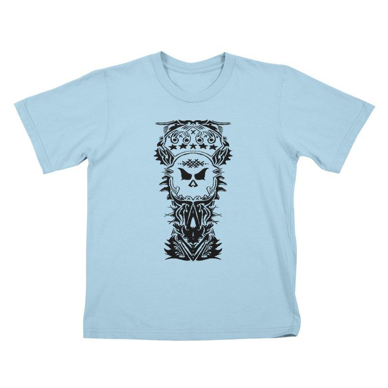 King Vicious  Kids T-shirt by ArtHeartB