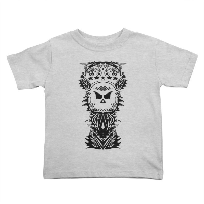 King Vicious  Kids Toddler T-Shirt by ArtHeartB