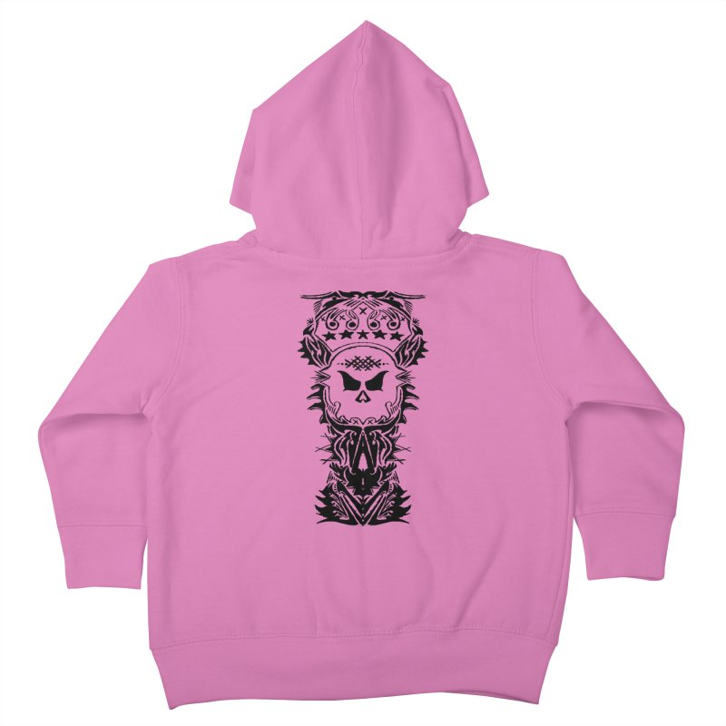 King Vicious  Kids Toddler Zip-Up Hoody by ArtHeartB