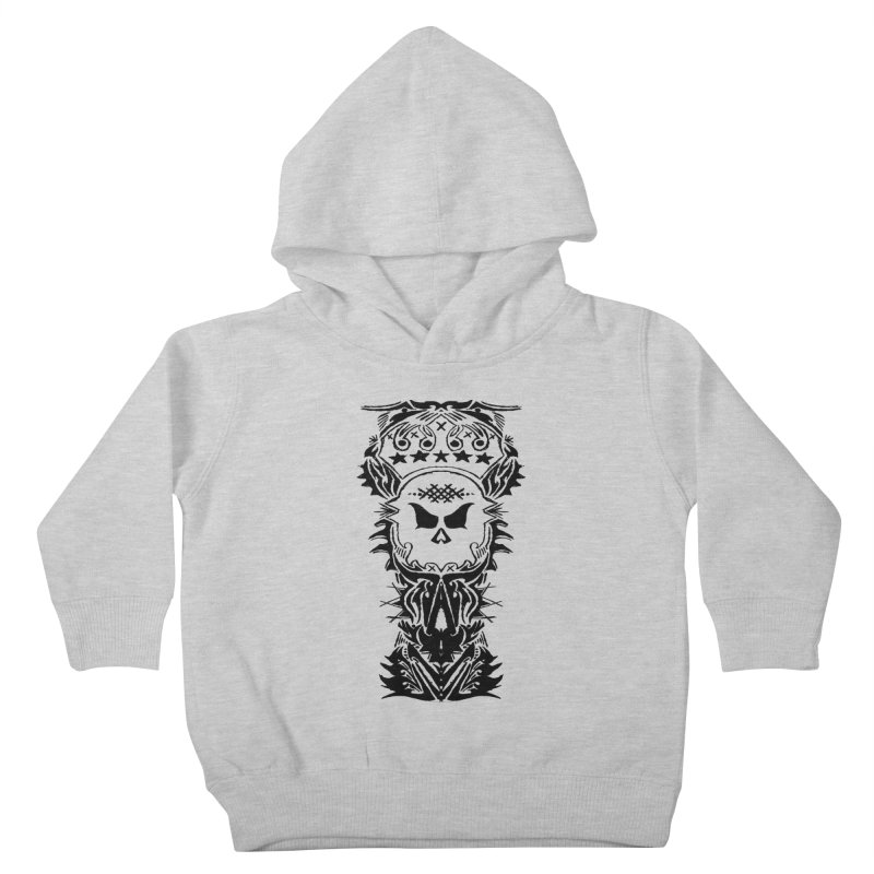 King Vicious  Kids Toddler Pullover Hoody by ArtHeartB