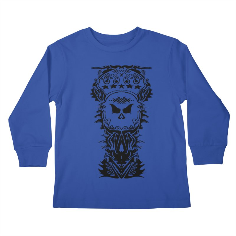 King Vicious  Kids Longsleeve T-Shirt by ArtHeartB