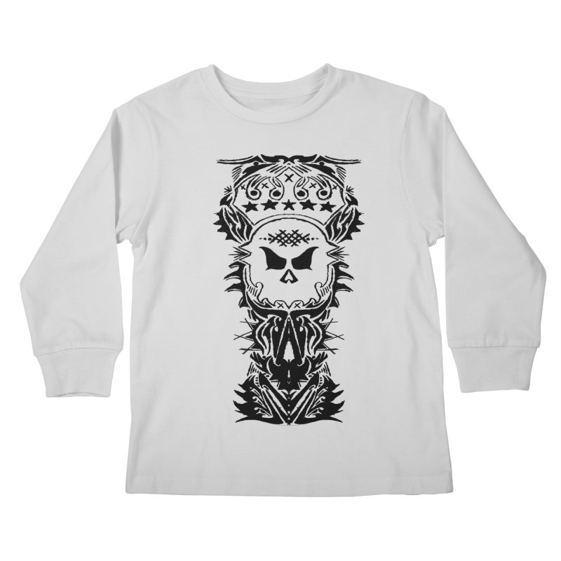 King Vicious  Kids Longsleeve T-Shirt by ArtHeartB