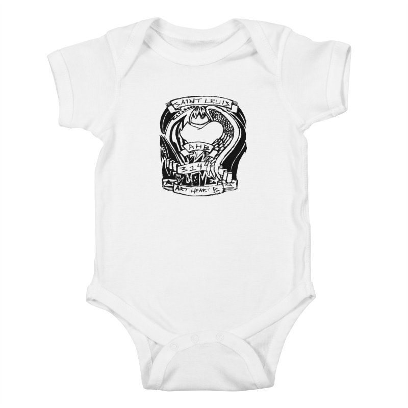 Love Kids Baby Bodysuit by ArtHeartB