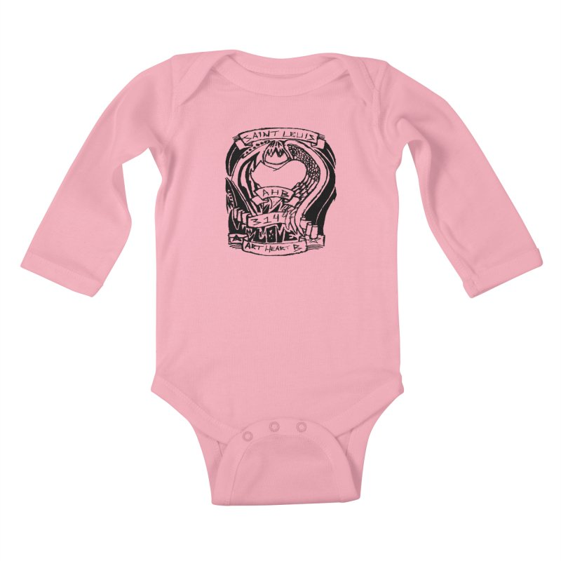 Love Kids Baby Longsleeve Bodysuit by ArtHeartB