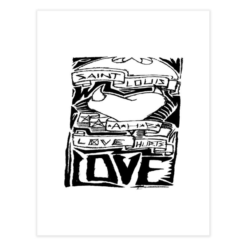 Love Hurts Home Fine Art Print by ArtHeartB