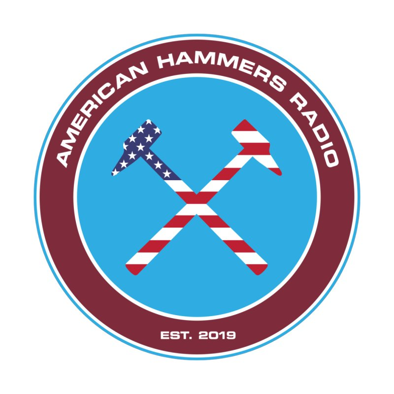 America Hammers Radio Men's T-Shirt by American Hammers Official Team Store