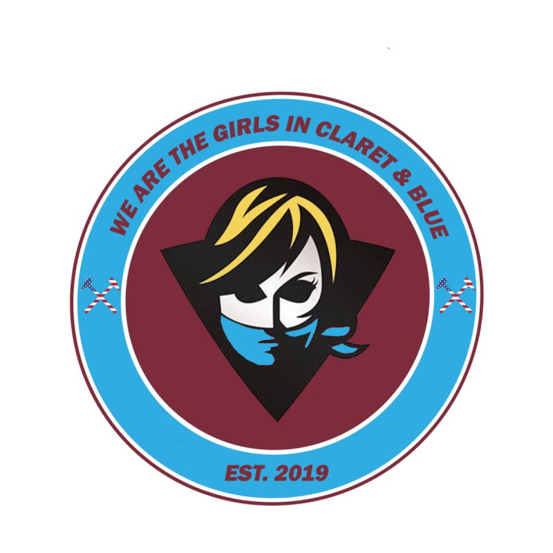 Girls in Claret & Blue Women's T-Shirt by American Hammers Official Team Store