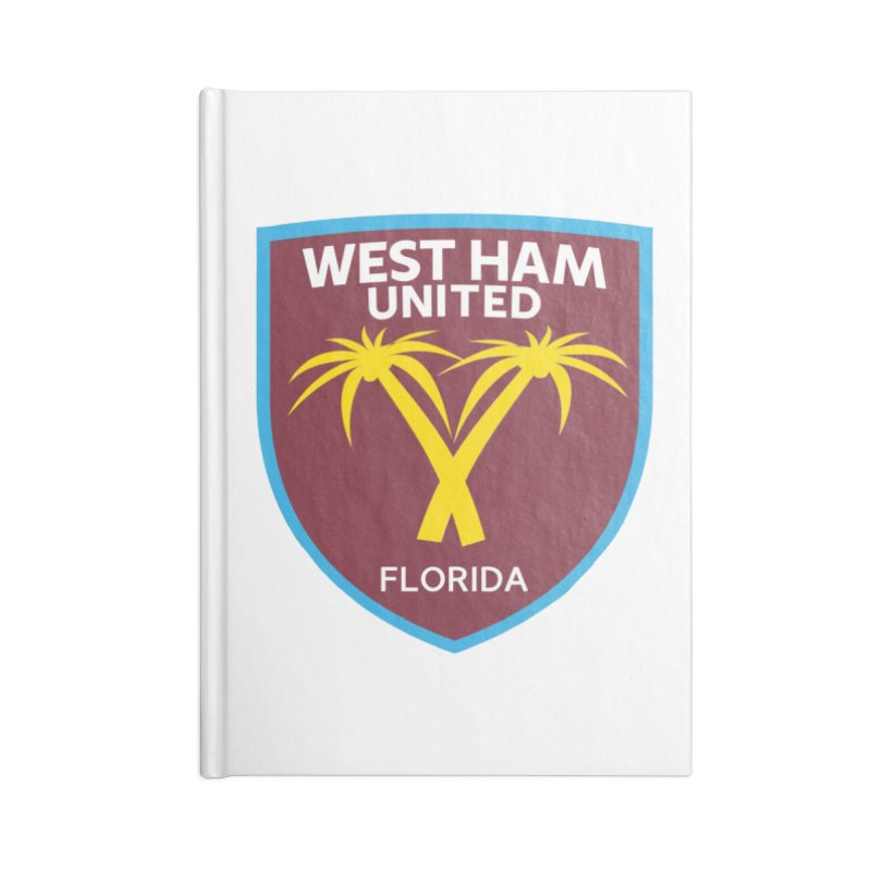 Florida Irons Accessories Notebook by American Hammers Official Team Store
