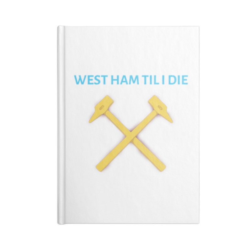 WHTID Accessories Notebook by American Hammers Official Team Store
