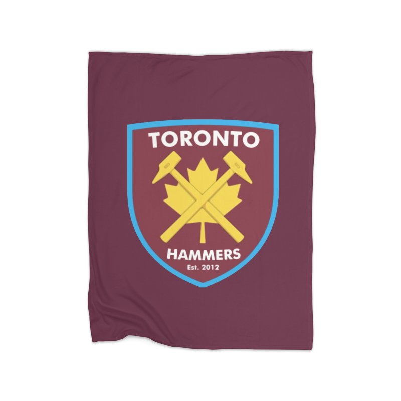 Toronto Hammers Home Blanket by American Hammers Official Team Store