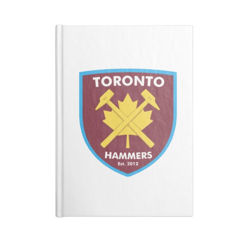 Toronto Hammers Accessories Notebook by American Hammers Official Team Store