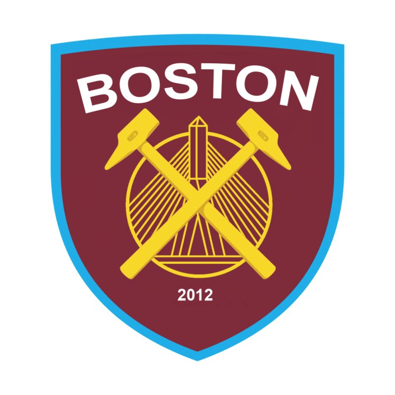 Boston Hammers Accessories Sticker by American Hammers Official Team Store