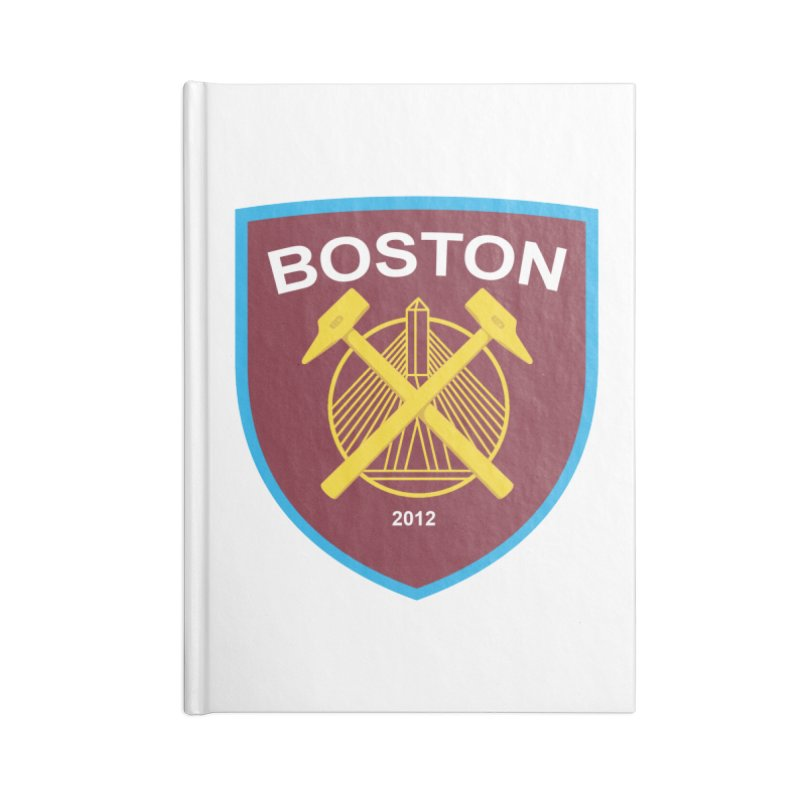 Boston Hammers Accessories Notebook by American Hammers Official Team Store