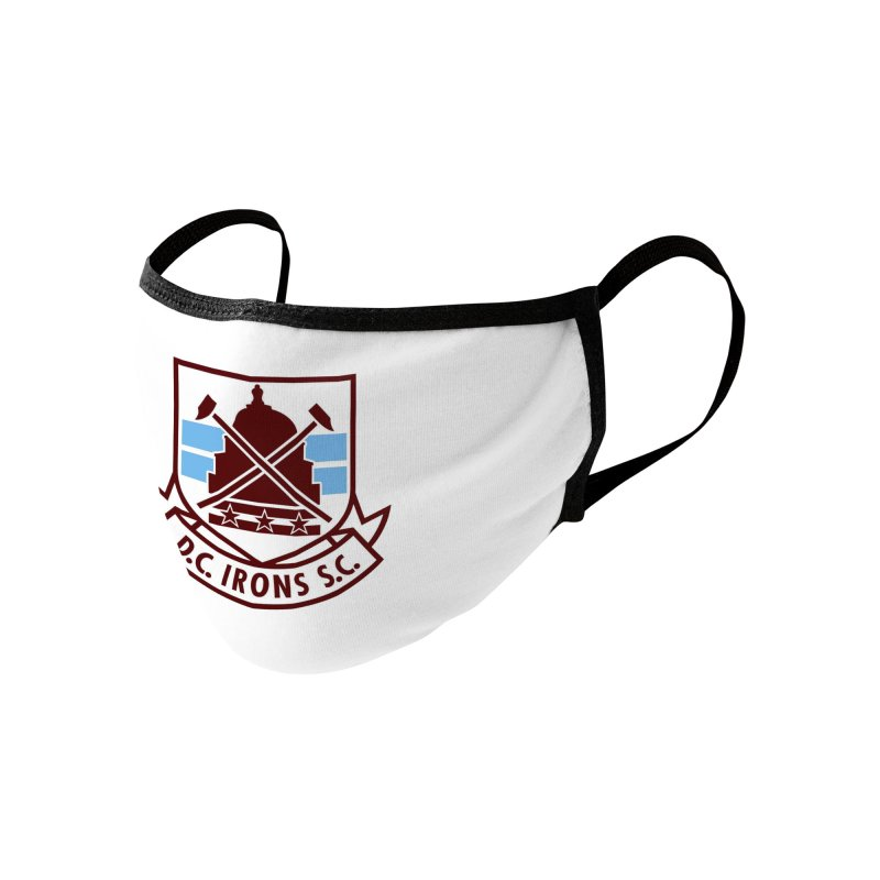 D.C. Irons Accessories Face Mask by American Hammers Official Team Store