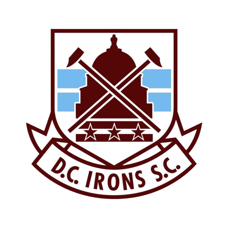 D.C. Irons Kids T-Shirt by American Hammers Official Team Store