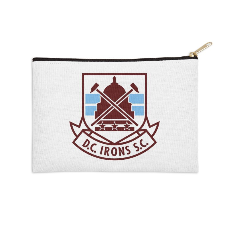 D.C. Irons Accessories Zip Pouch by American Hammers Official Team Store
