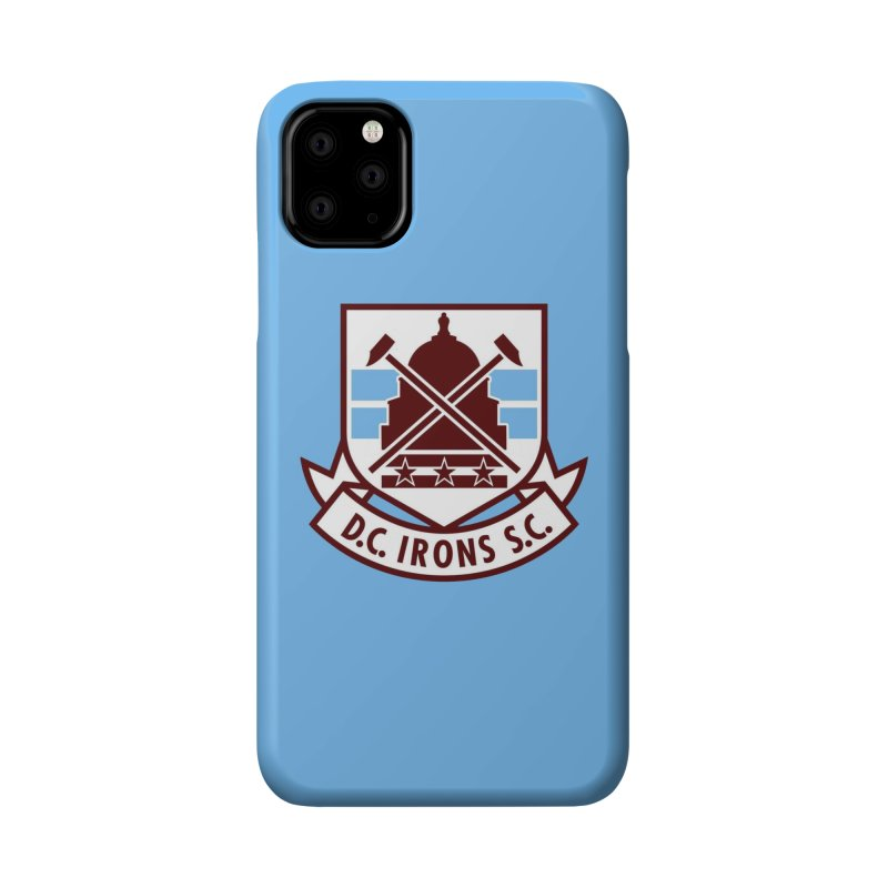 D.C. Irons Accessories Phone Case by American Hammers Official Team Store