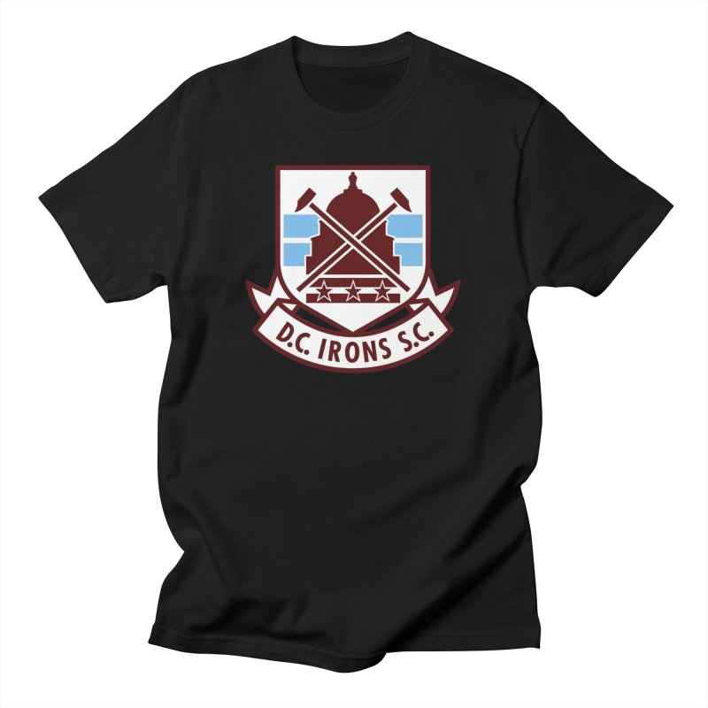 D.C. Irons Men's T-Shirt by American Hammers Official Team Store