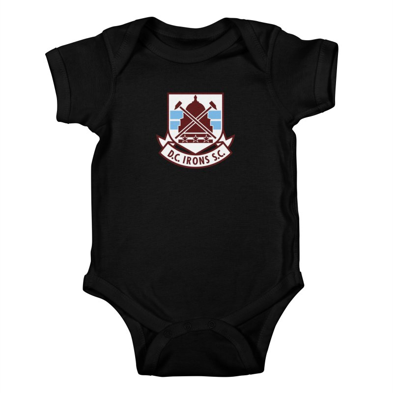 D.C. Irons Kids Baby Bodysuit by American Hammers Official Team Store