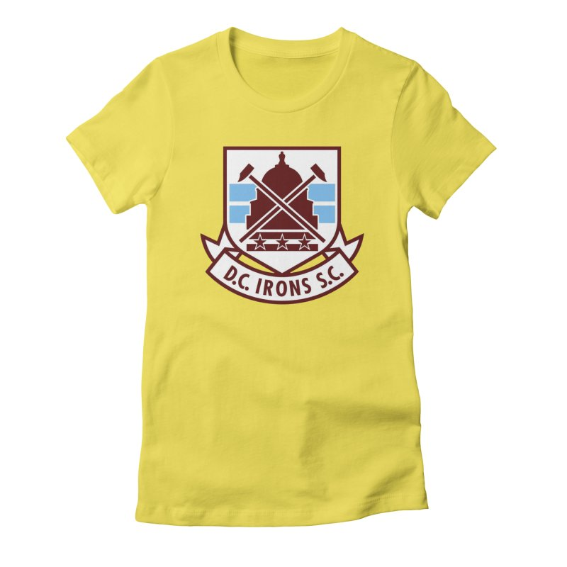D.C. Irons Women's T-Shirt by American Hammers Official Team Store