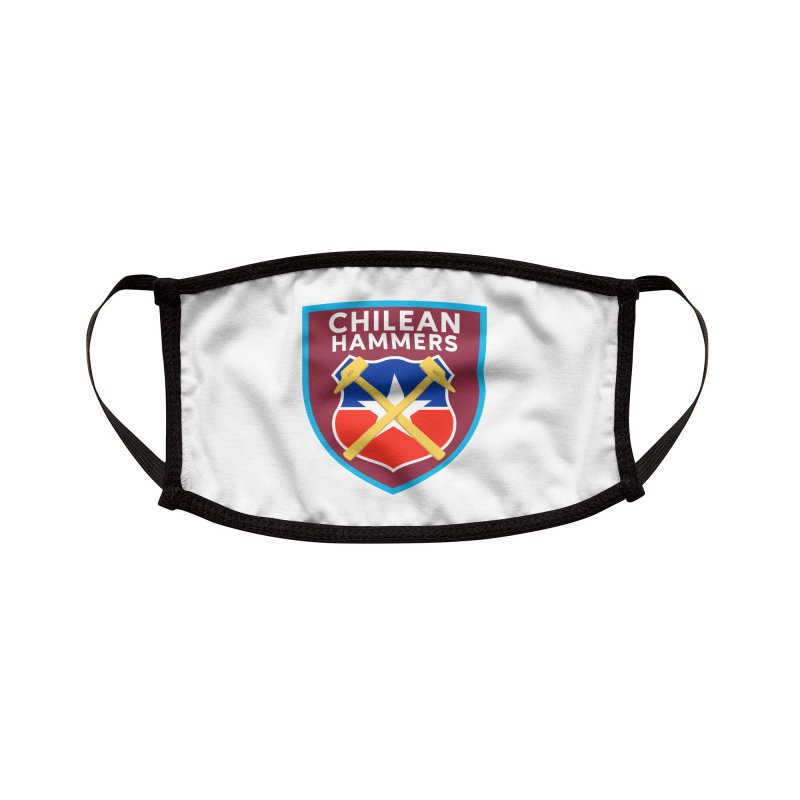 Chilean Hammers Accessories Face Mask by American Hammers Official Team Store