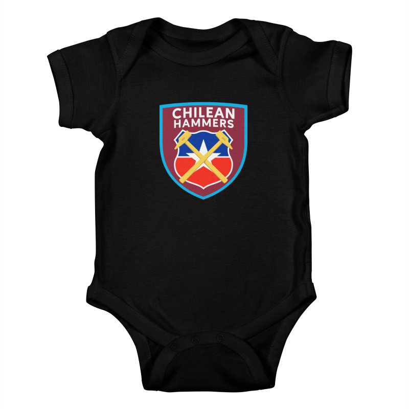 Chilean Hammers Kids Baby Bodysuit by American Hammers Official Team Store