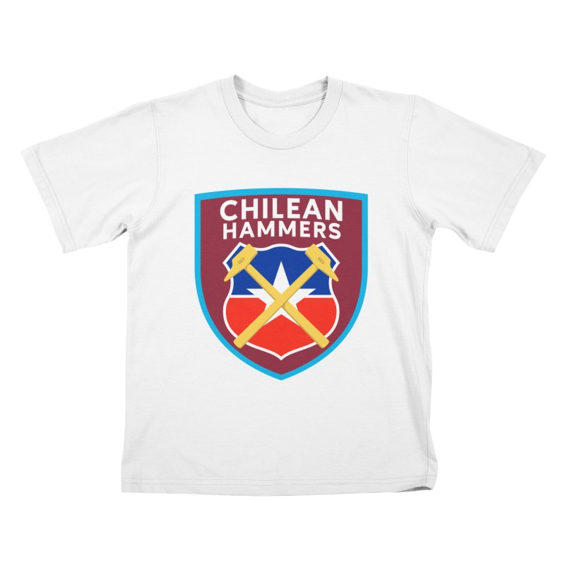 Chilean Hammers Kids T-Shirt by American Hammers Official Team Store
