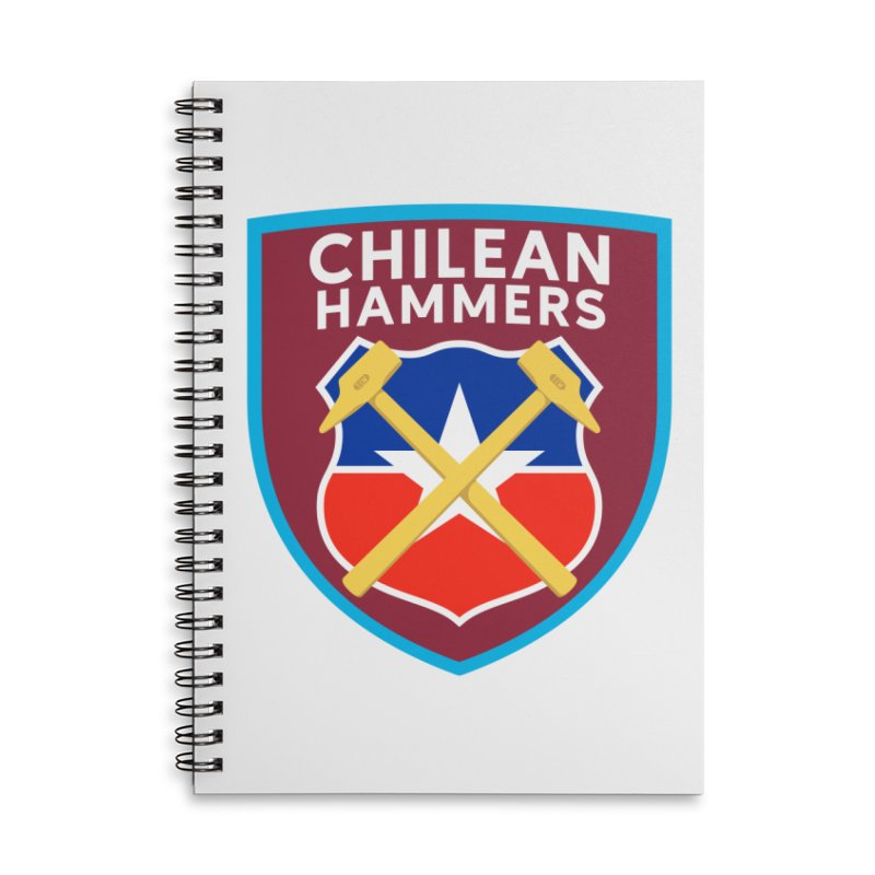 Chilean Hammers Accessories Notebook by American Hammers Official Team Store