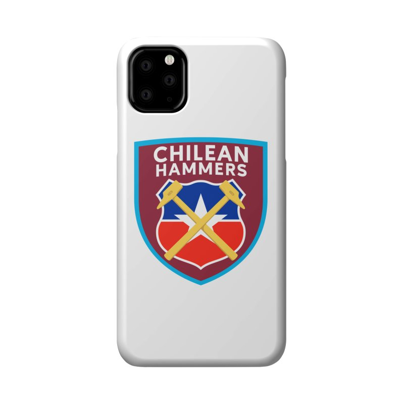 Chilean Hammers Accessories Phone Case by American Hammers Official Team Store