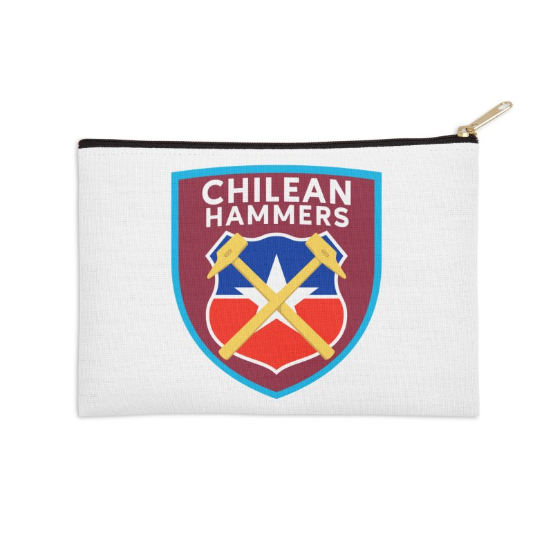 Chilean Hammers Accessories Zip Pouch by American Hammers Official Team Store
