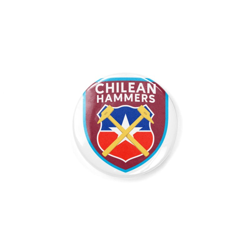 Chilean Hammers Accessories Button by American Hammers Official Team Store