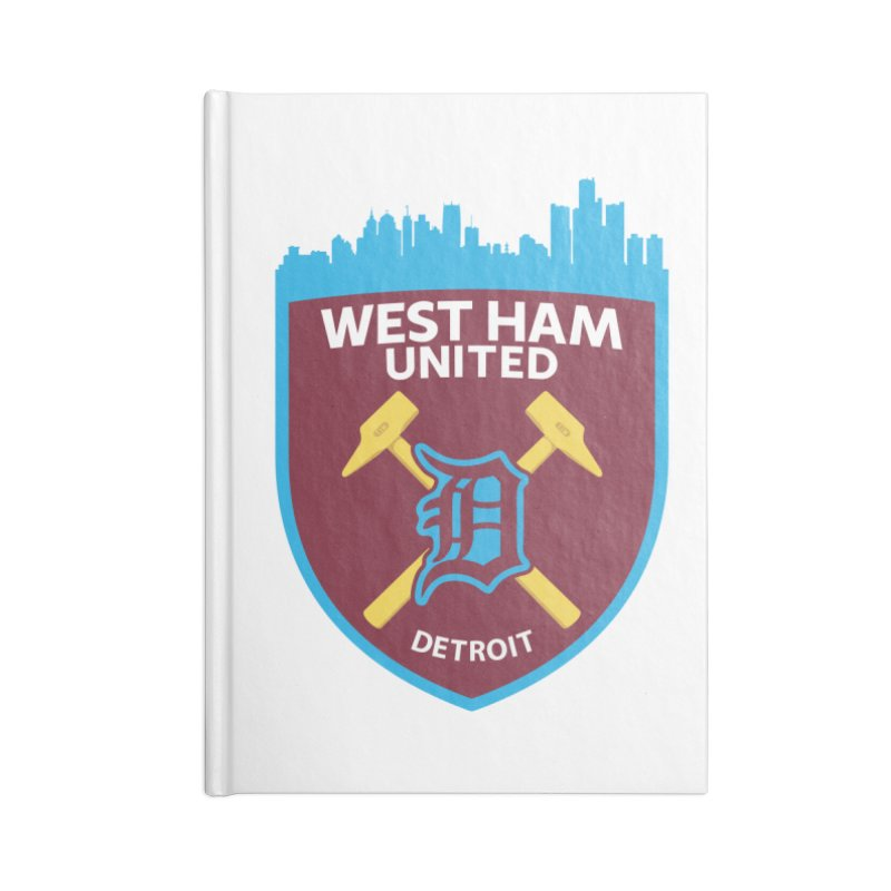 Detroit Hammers Accessories Notebook by American Hammers Official Team Store