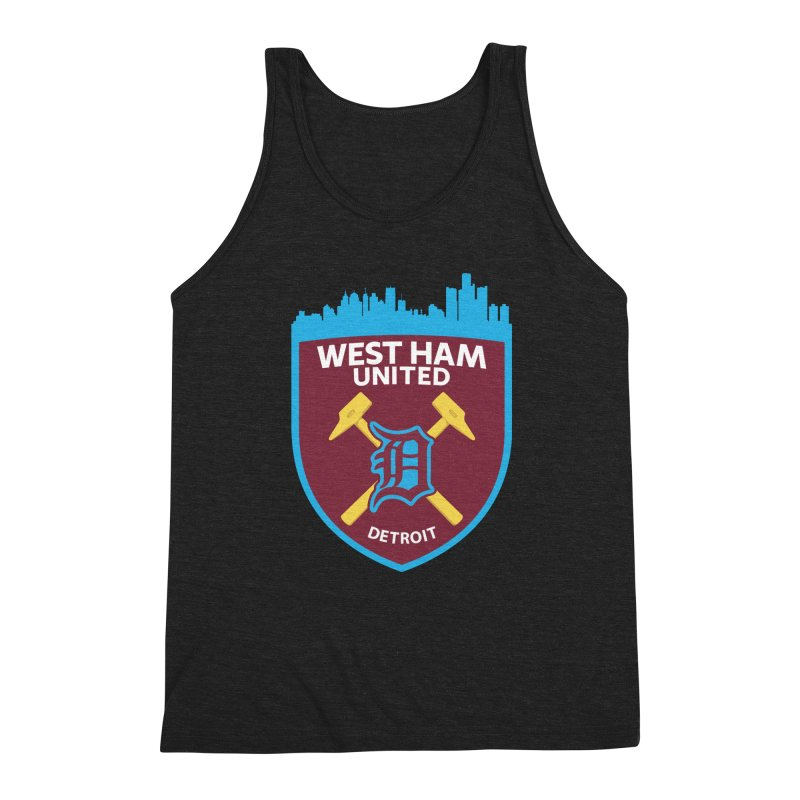 Detroit Hammers Men's Tank by American Hammers Official Team Store
