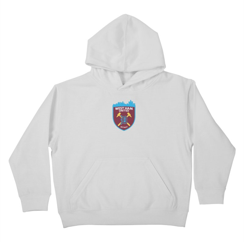 Detroit Hammers Kids Pullover Hoody by American Hammers Official Team Store