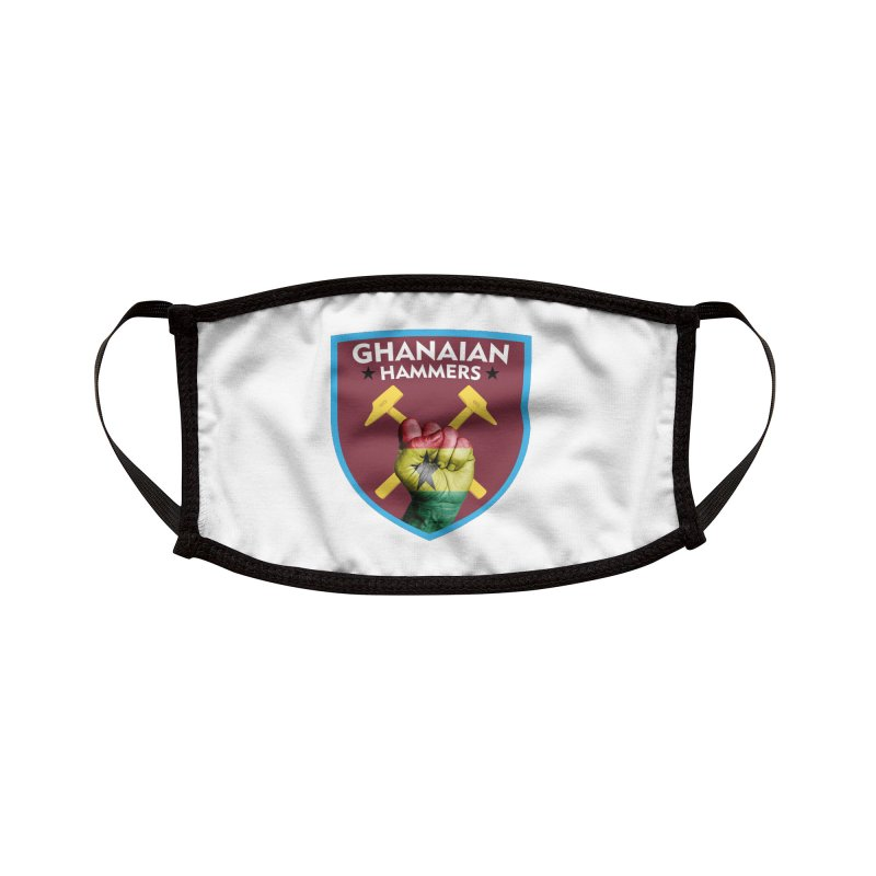 Ghanaian Hammers Accessories Face Mask by American Hammers Official Team Store