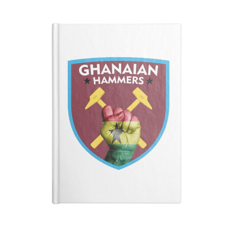 Ghanaian Hammers Accessories Notebook by American Hammers Official Team Store