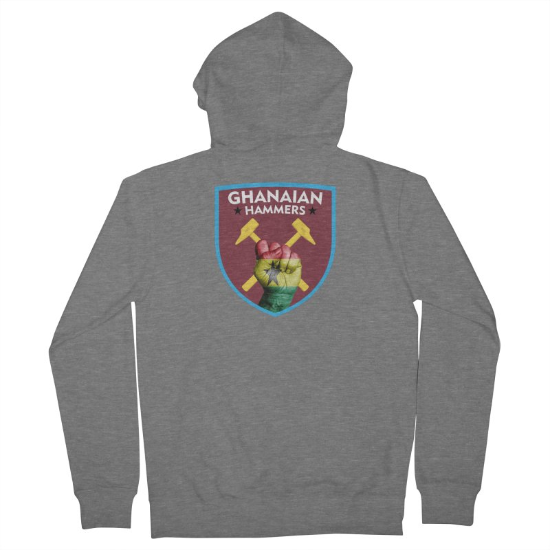Ghanaian Hammers Women's Zip-Up Hoody by American Hammers Official Team Store
