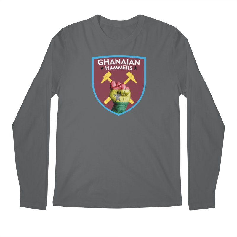 Ghanaian Hammers Men's Longsleeve T-Shirt by American Hammers Official Team Store