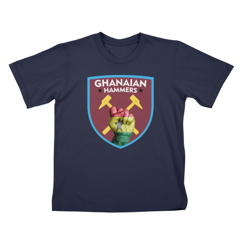 Ghanaian Hammers Kids T-Shirt by American Hammers Official Team Store
