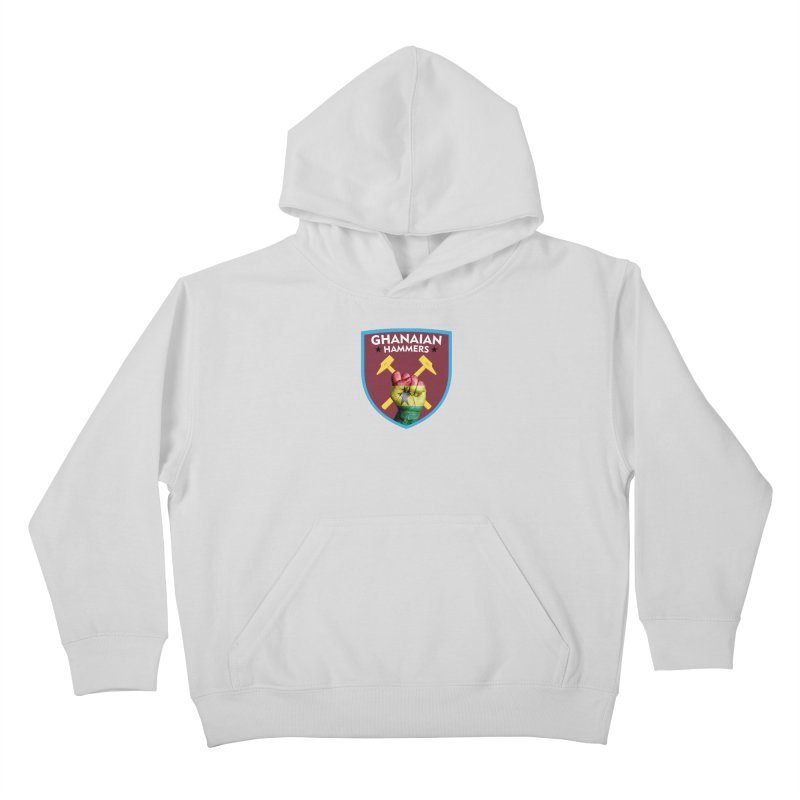 Ghanaian Hammers Kids Pullover Hoody by American Hammers Official Team Store