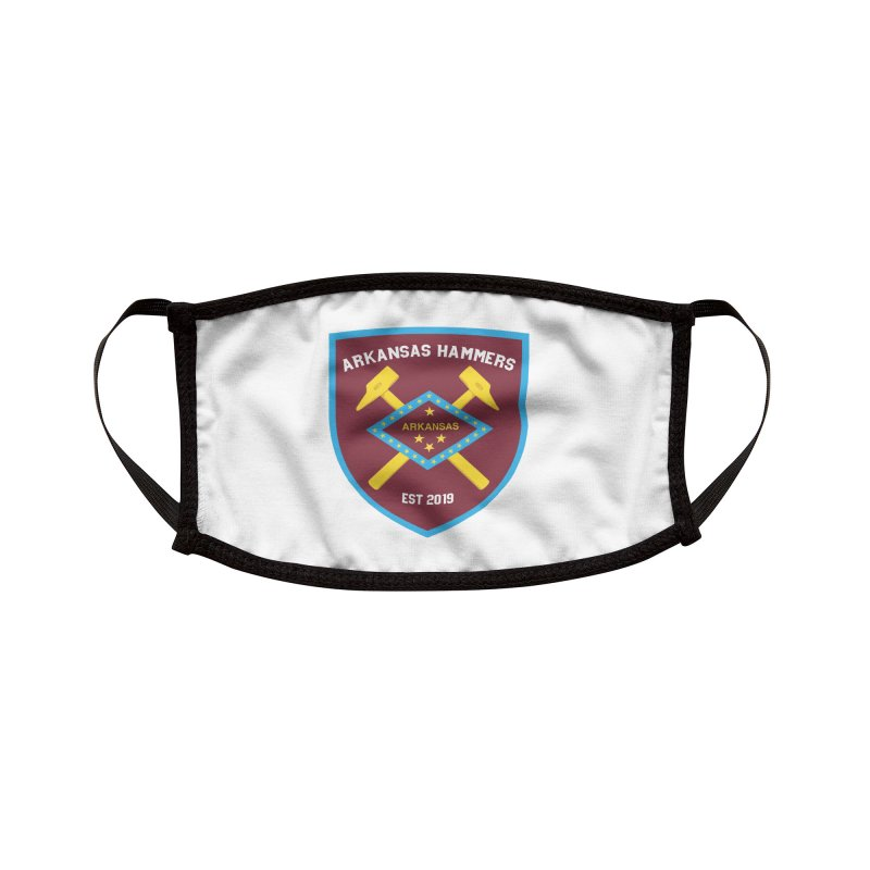Arkansas Hammers Accessories Face Mask by American Hammers Official Team Store