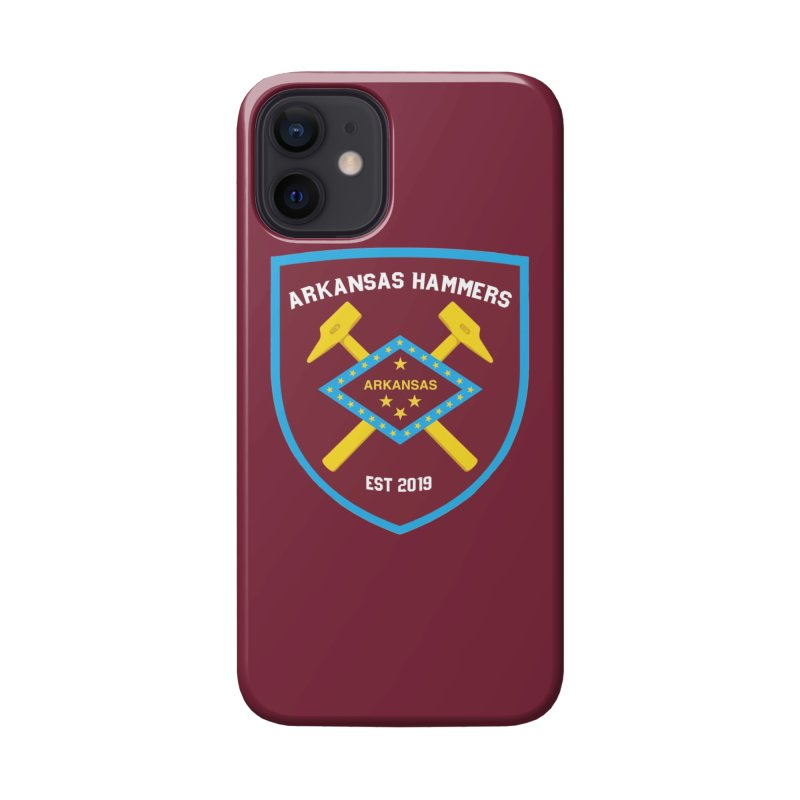 Arkansas Hammers Accessories Phone Case by American Hammers Official Team Store