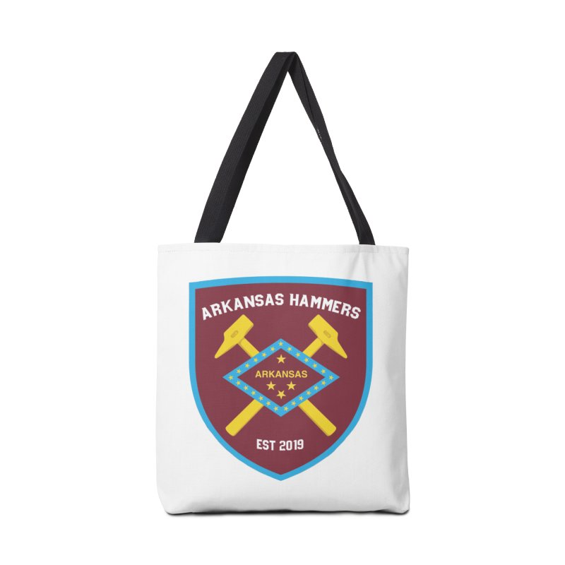 Arkansas Hammers Accessories Bag by American Hammers Official Team Store