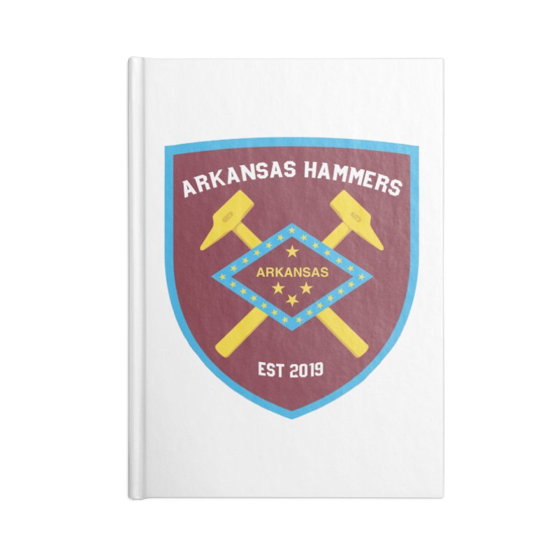 Arkansas Hammers Accessories Notebook by American Hammers Official Team Store