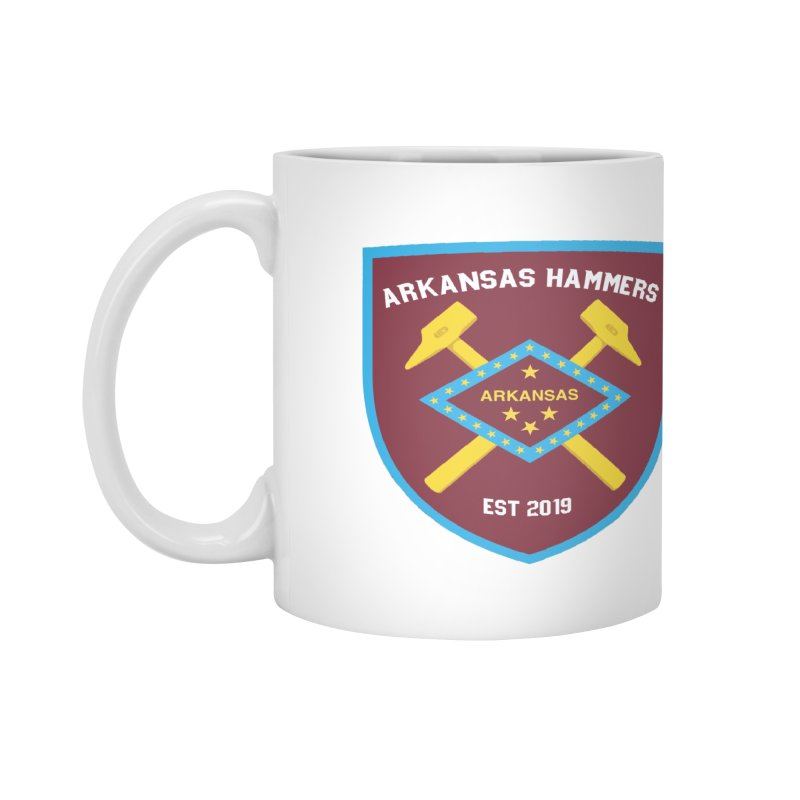 Arkansas Hammers Accessories Mug by American Hammers Official Team Store