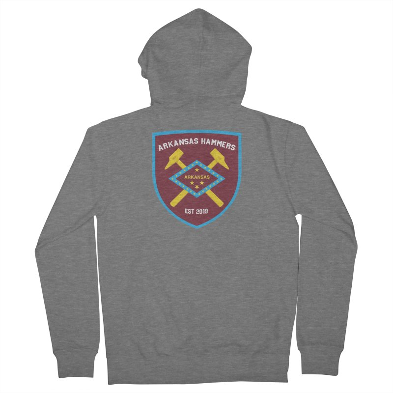Arkansas Hammers Women's Zip-Up Hoody by American Hammers Official Team Store